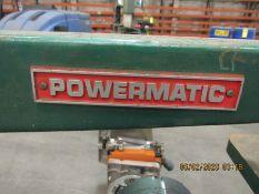 POWERMATIC JIG SAW MODEL 95, S/N 7895160, 120V