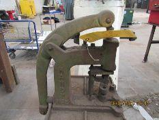HANDY BUTTON MACHINE NO. 5, S/N 826
