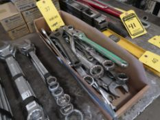 ASSORTED WRENCHES IN (1) BOX
