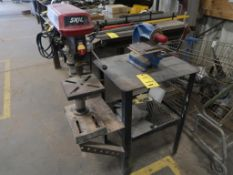 10' SKIL BENCHTOP DRILL PRESS AND NUMBERALL MODEL 40B