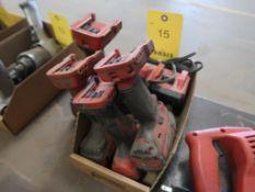 (4) ASSORTED MILWAUKEE 18V TOOLS