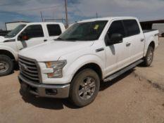 ***CARLSBAD, NEW MEXICO LOCATION*** (2016) FORD F150 XLT CREW CAB 4X4, 5.0 GAS ENGINE, 155,610 MILES