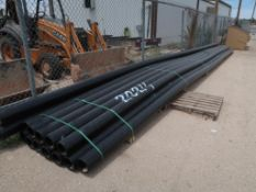 (13) 6'' HDPE PIPE 6 IPS DRII 40' LONG