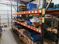 (2) SECTIONS 42'' X 96'' X 10' 3-TIER PALLET RACKING