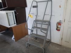 4-STEP COTTERMAN ROLLING STAIRS, MODEL 0312