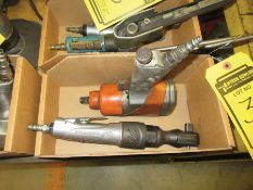 EVERCRAFT 1/2'' PNEUMATIC IMPACT WRENCH & INGERSOLL RAND 1/2'' PNEUMATIC RATCHET WRENCH, S/N SR15K
