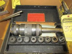 ASQUITH DRILLING/TAPPING HEAD W/ ADAPTORS, DRILLS/REAMS TO 7/8'', TAPS: 1/4-3/4''