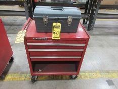 STACK-ON TOOL CABINET & TUFF BOX TOOL BOX