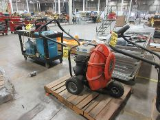 BILLY GOAT FORCE 9 FORCED BLOWER, 9-HP, MODEL: F900H, S/N 101606617