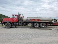 1997 MACK RD888 SX ROLL BACK TRUCK, T/A 2 RUFNEK WINCHES, MAXITORQUE ES TRANS, 410,661 MILES, 25'