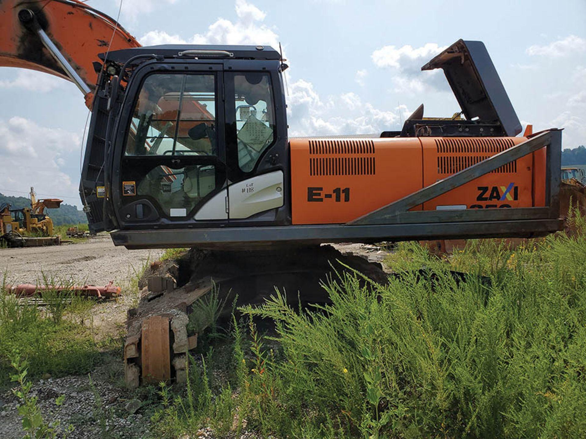 Lot 118 - HITACHI ZX350LC-5N EXCAVATOR, S/N: IFFDDC70HBE930053, 50'' BUCKET WITH TEETH, ISUZU DIESEL ENGINE,