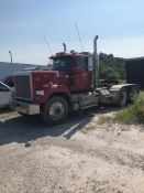 1991 MACK RW600 T/A DAY CAB TRACTOR, 10 SPEED TRANS WITH DEEP REDUCTION RANGE, 197,501 MILES, WET