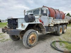 1970 GM CORE DRILL WATER SUPPORT TRUCK, 5-TON, 5-SPEED, 6-WHEEL DRIVE, VIN , CT 133, LOCATION: MARCO