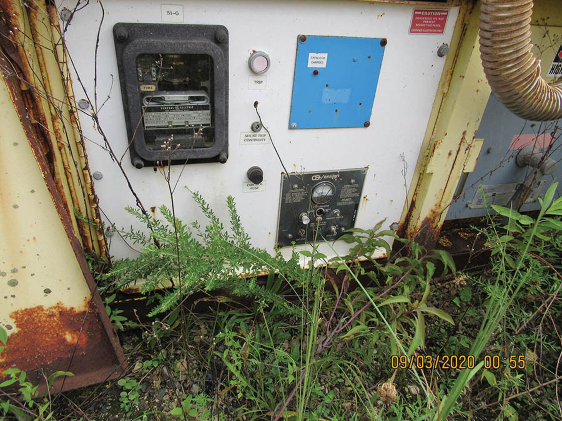 Lot 611 - AMERICAN ELECTRIC EQUIPMENT POWER CENTER, 7,200 VOLTS, S/N 9854-197