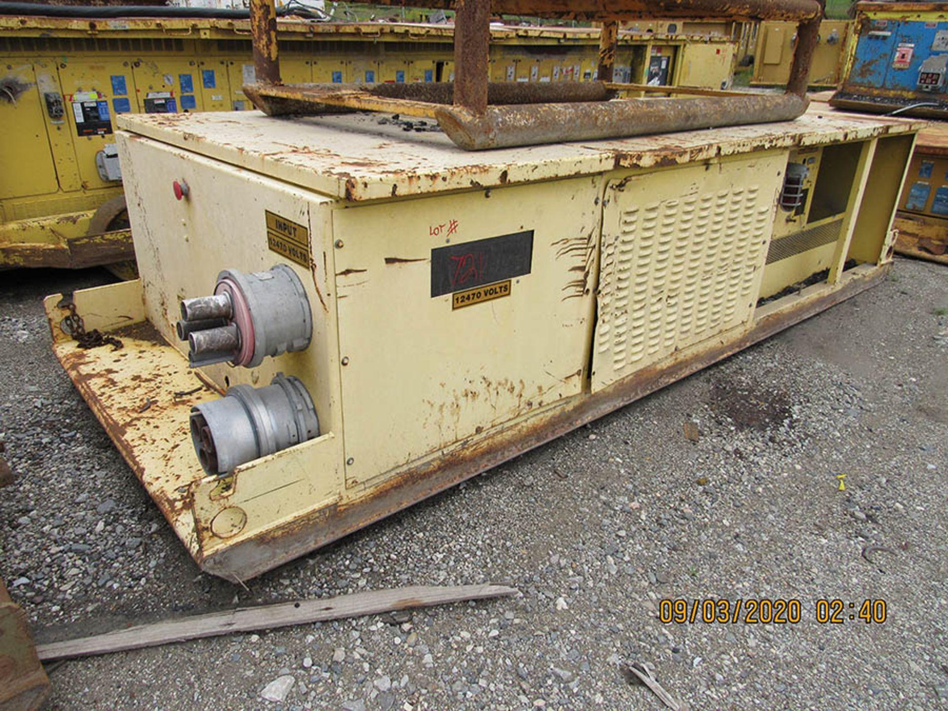 Lot 721 - POWER CENTER 12470V INPUT 110-480V OUTPUT