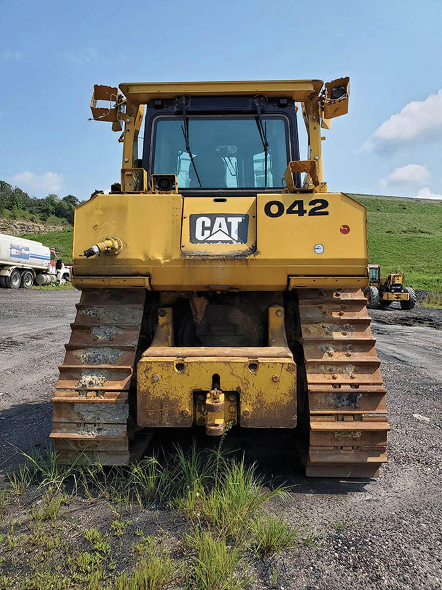 Lot 124 - CATERPILLAR D8T DOZER, S/N: KPZ02178, CAT C15 ENGINE, 24'' WIDE TRACKS, 166'' WIDE DOZER BLADE, REAR