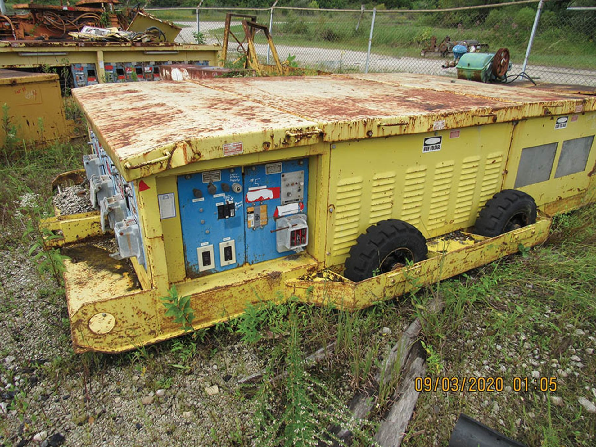 Lot 617 - POWER CENTER, INFORMATION N/A
