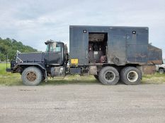 1994 MACK RD890 SX T/A LUBE TRUCK, EATON FULLER TRANSMISSION, MACK INLINE SIX ENGINE, 228,302 MILES,