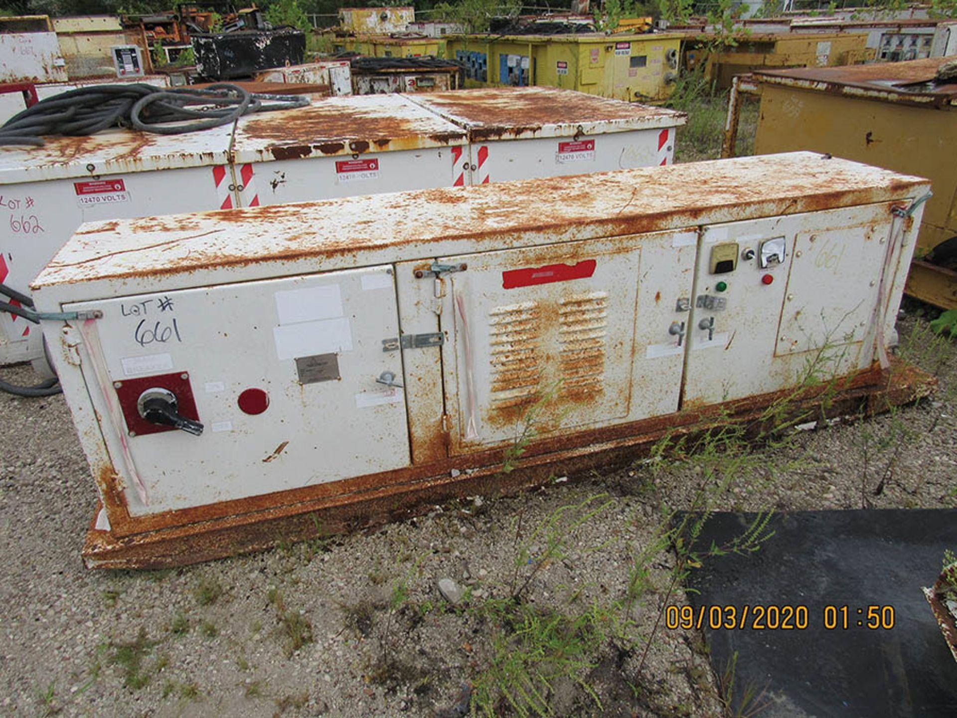 Lot 661 - POWER CENTER, MODEL PB/BEN-480, S/N 13764, 480V.