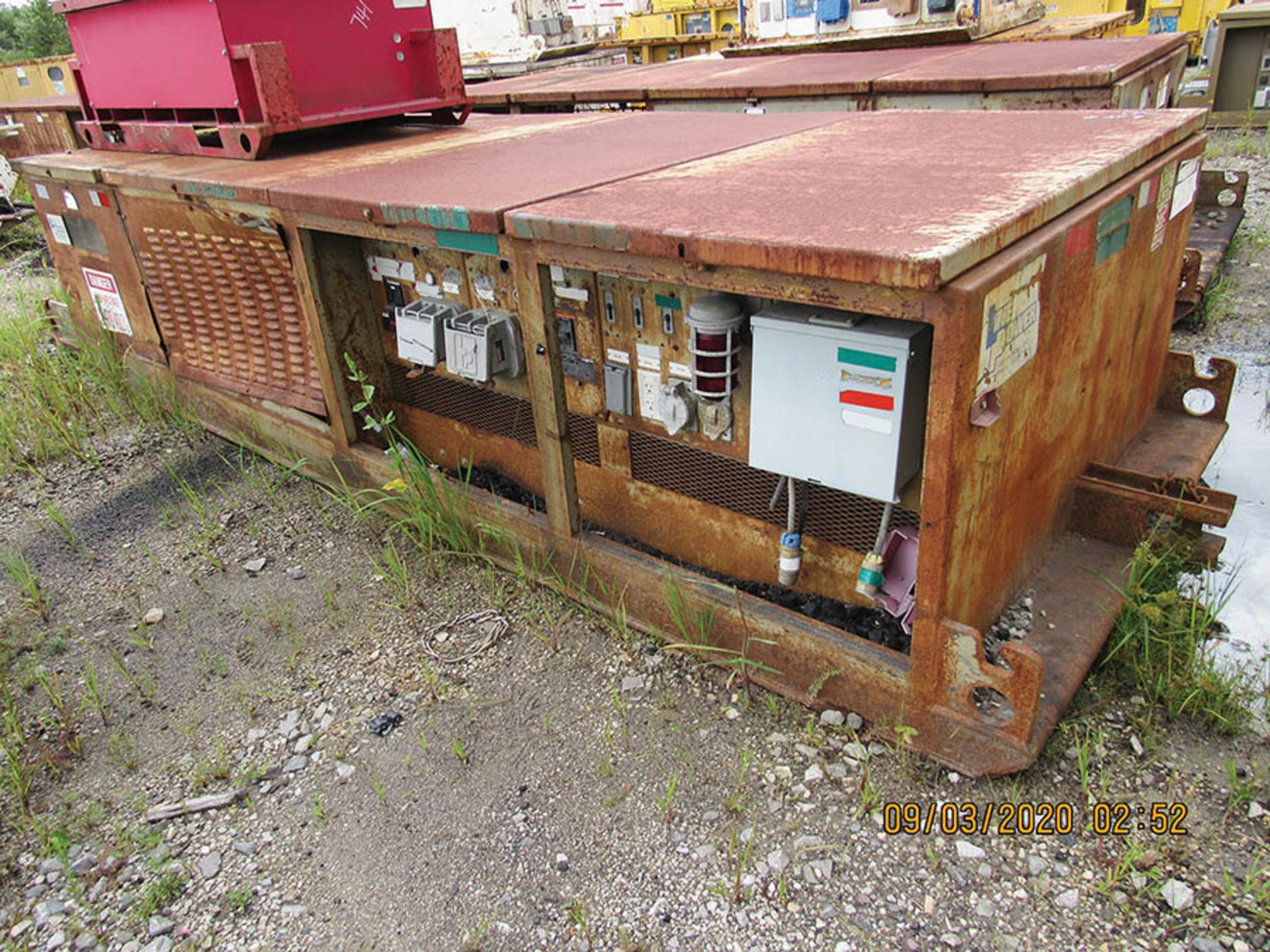 Lot 740 - LINE POWER CO MODEL 650PC POWER CENTER, S/N 8308, INPUT 12470 VAC 30 60HZ, AC OUT 480 VAC 30 60HZ