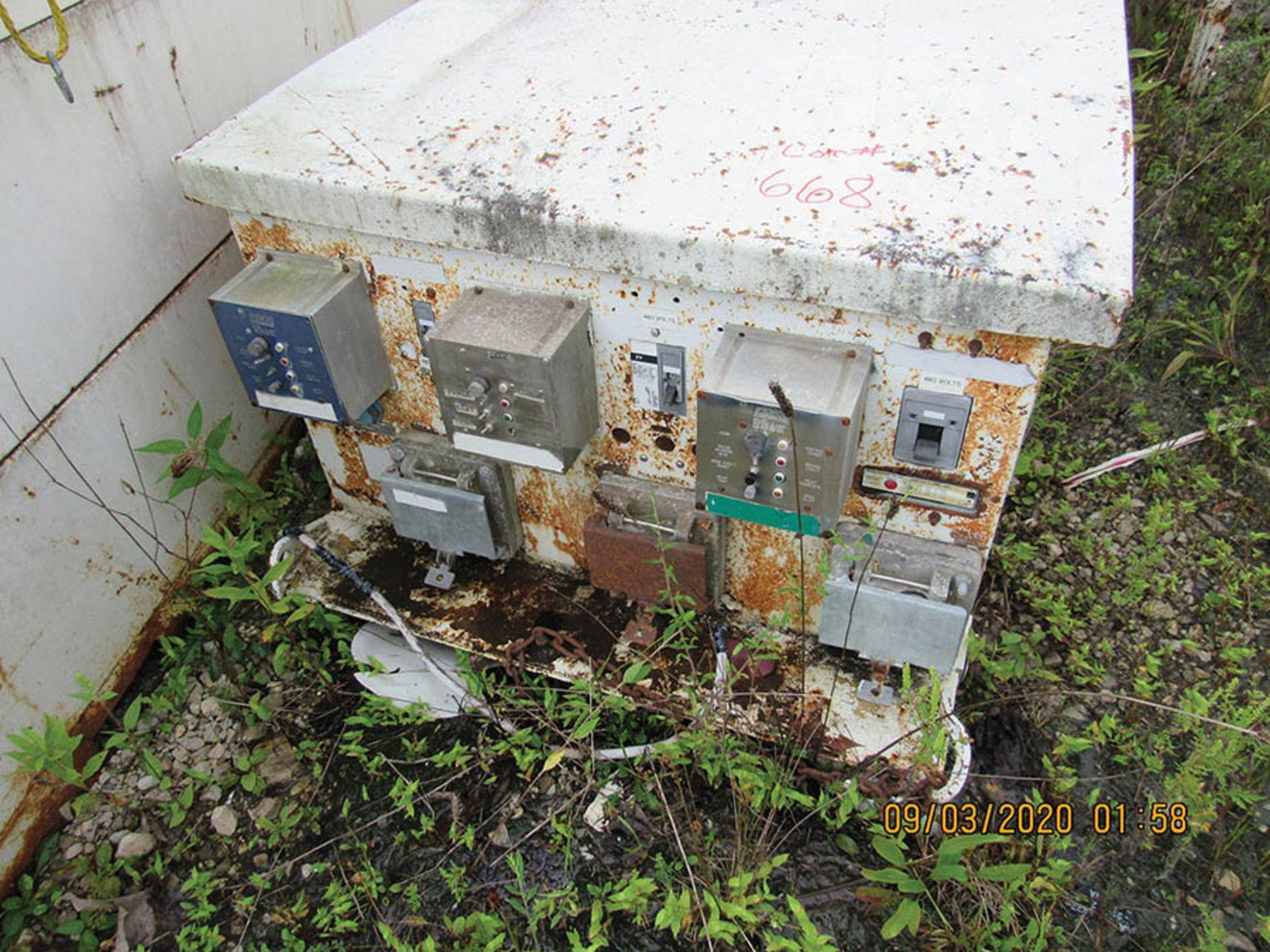Lot 668 - 7,200 V POWER CENTER