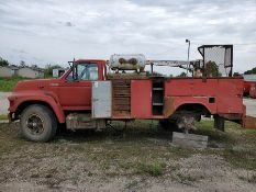 1997 FORD F-SERIES, DIESEL, MANUAL TRANS, WITH AUTO CRANE, VIN 1FDNF80C6WVA21598, LOCATION: MARCO