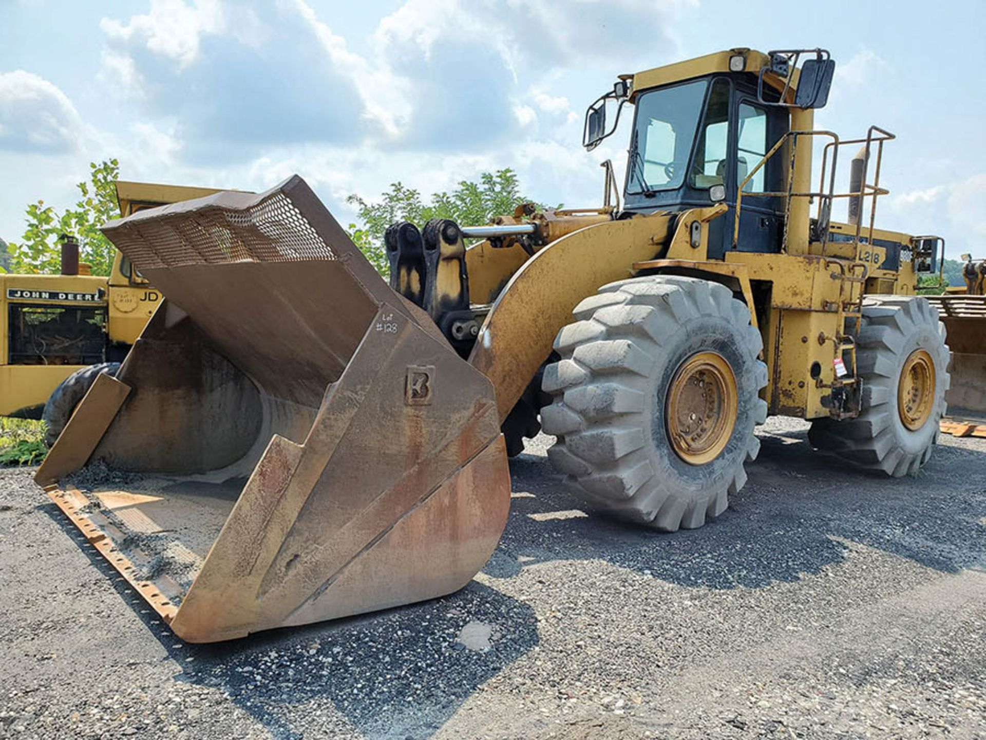 Lot 128 - CATERPILLAR 980F WHEEL LOADER, PIN: 8JN00819, 70,092 HOURS SHOWING, 6-CYLINDER TURBO DIESEL