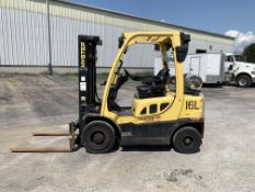 2010 HYSTER 5,000-LB., MODEL: H50FT, S/N: L177V05704H, LPG, MONOTROL TRANSMISSION, PNEUMATIC