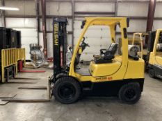 2015 HYSTER 6,000-LB., MODEL: H60FT, S/N: P177V01744N, LPG, LEVER SHIFT TRANSMISSION, BRAND NEW