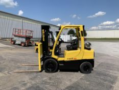 2014 HYSTER 6,000-LB., MODEL: H60FT, S/N: P177V02144M, LPG, LEVER SHIFT TRANSMISSION, BRAND NEW