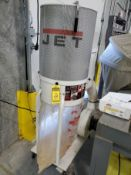 JET VORTEX CONE PORTABLE DUST COLLECTOR, MODEL DC-1100VX, 1.5 HP, 115/230V, S/N 19041342, BOTTOM