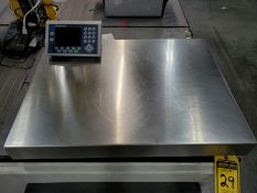 31 1/2'' X 23 3/4'' METLER-TOLEDO DIGITAL PLATFORM BENCH SCALE, MODEL PB655-CC60, 120 LB.