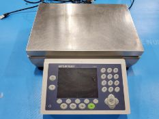 13 3/4'' X 9 1/2'' METLER-TOLEDO DIGITAL PLATFORM BENCH SCALE, ICS685 TOUCH BUTTON DRO CONTROL,