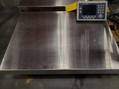 31 ½'' X 23 ¾'' METLER-TOLEDO DIGITAL PLATFORM BENCH SCALE, MODEL PB655-CC60, 120 LB. CAPACITY,