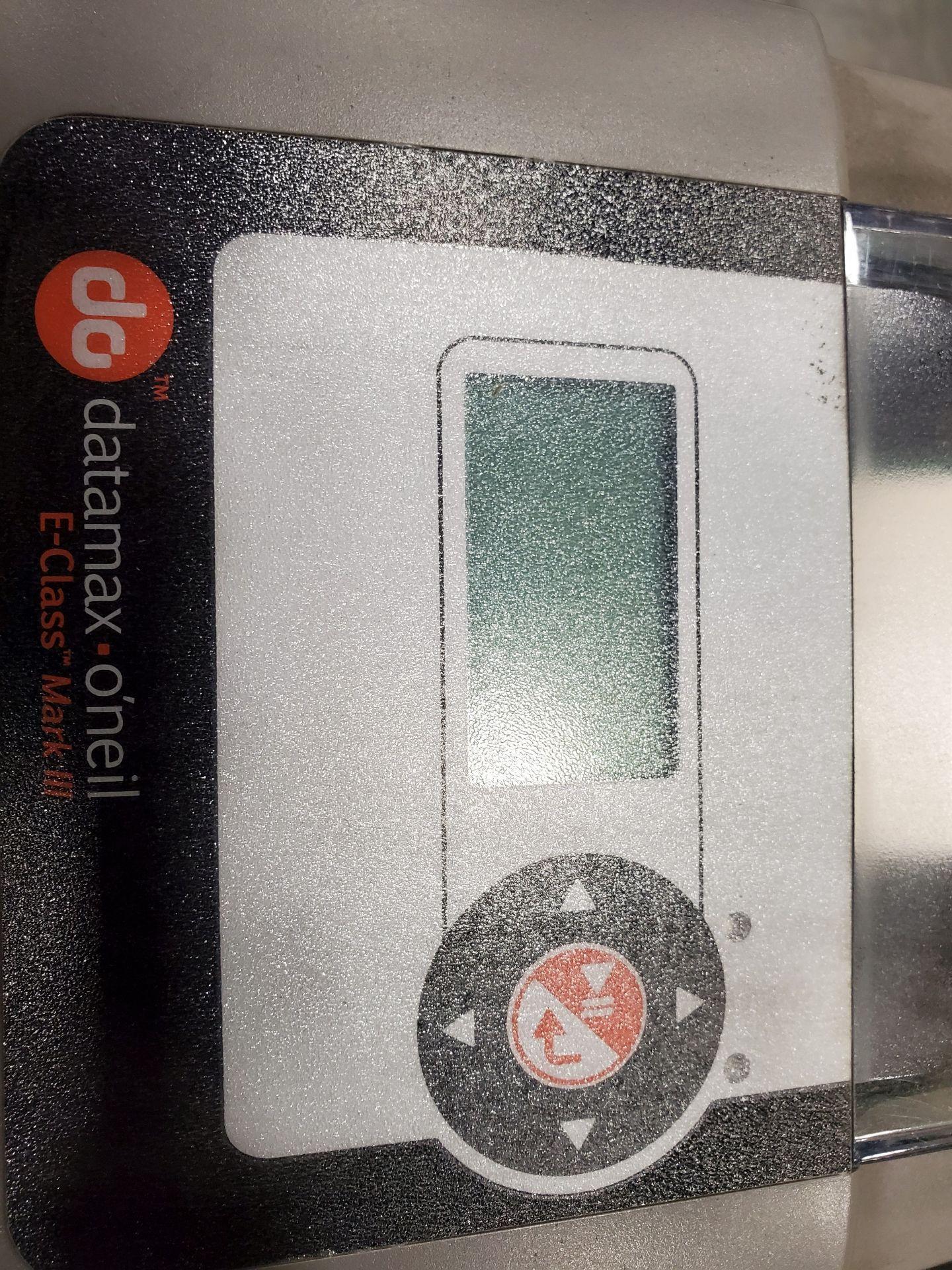 Lot 508 - (3) DATAMAX-O'NEIL THERMAL LABEL PRINTER, MODEL E-4206P, E-CLASS MARK 3 FAMILY WITH (3) POWER