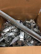 BOX OF ASSORTED BRACKETS