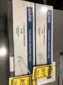 (2) ULINE 1/2'' INDUSTRIAL GRIPPER SEALER H-702, NEW IN BOX