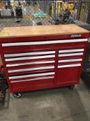 WATERLOO 10-DRAWER ROLLING TOOLBOX WITH CONTENTS