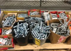 SKID OF ASSORTED ANCHOR BOLTS