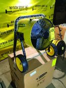 FOSTORIA FES-3048-3A PORTABLE FORCED AIR HEATER (NEW)