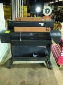 HEWLETT-PACKARD DESIGNJET 800 PLOTTER MACHINE, MODEL C7780B