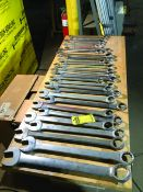(30) LARGE OPEN END WRENCHES