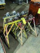 (4) SUMNER ADJUST-A-ROLL PIPE STANDS