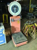 METTLER TOLEDO 2181 FLOOR SCALE, 750-LB CAPACITY