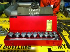 """WRIGHTTOOL 3/4"""" DRIVE 2 3/8"""" TO 7/8"""" RATCHET AND SOCKET SET (NEW)"""