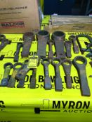 LOT OF 16 MISC KNOCK WRENCHES