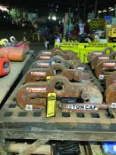 CALDWELL MODEL BWC-10W 10 TON I-BEAM RIGGING CLAMPS (X5)
