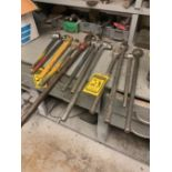 ASSORTED BREAKER BARS AND RATCHETS