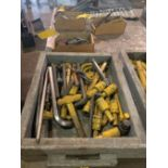 ASSORTED HEAVY DUTY ALLEN WRENCHES AND ALLEN SOCKETS