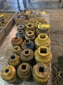 ASSORTED HEAVY DUTY SOCKETS 2 15/16'' - 5 3-4''